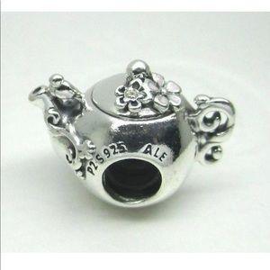 Authentic Pandora Enchanted Teapot Charm